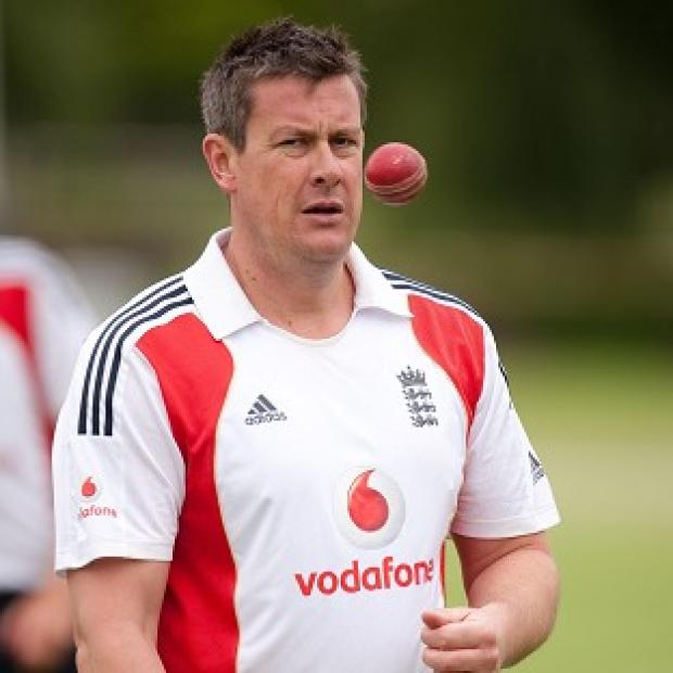 Ashley Giles is hoping to be a calm leader for England