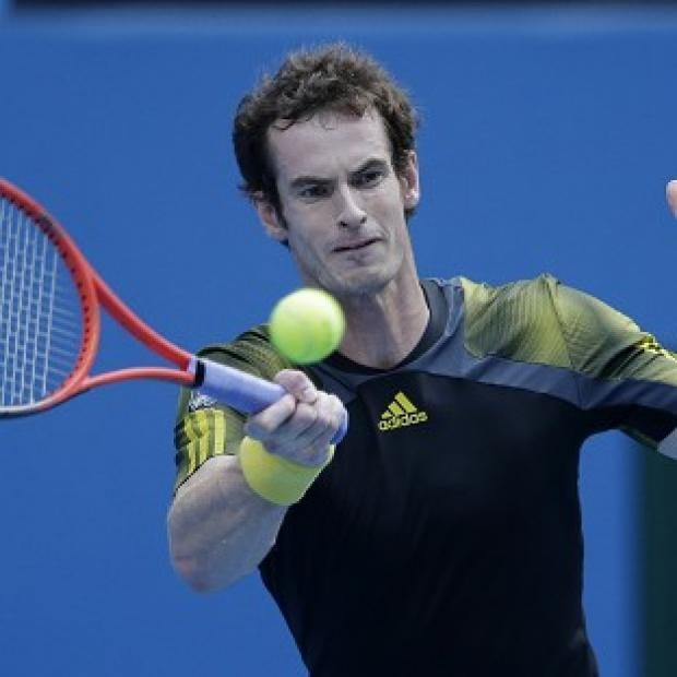 Andy Murray, pictured, had few problems in beating Gilles Simon (AP)