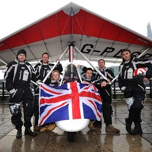 Disabled UK military service personnel are planning a microlight flying expedition to the South Pole