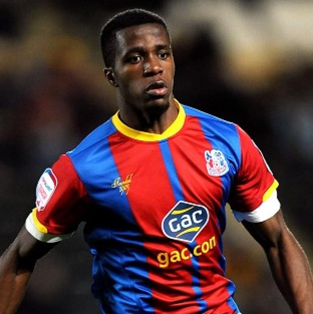 The highly-rated Wilfried Zaha is a target for Manchester United
