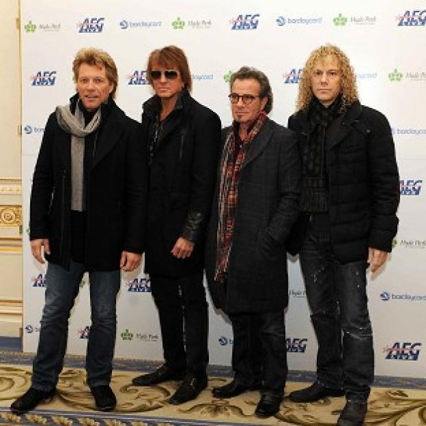 Bon Jovi will perform at Hyde Park during the summer