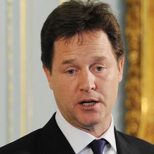 Deputy PM Nick Clegg says the Green Deal will help thousands of homes stay warm for less