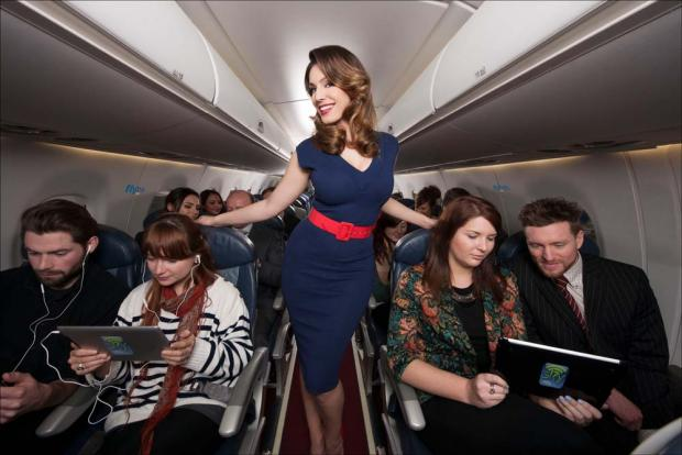 Model Kelly Brook launches sky high entertainment package