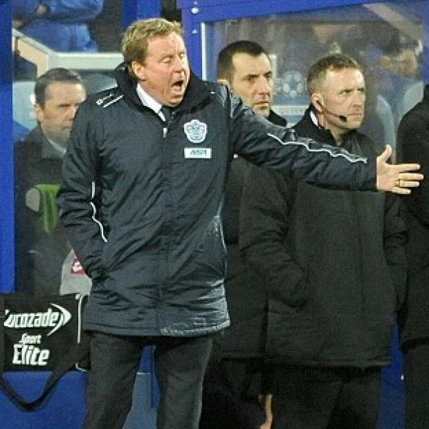 Harry Redknapp, left, says the draw against Manchester City was 'a bonus point'