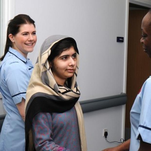 Malala Yousafzai is to have a custom-made titanium plate fitted to her skull at the Queen Elizabeth Hospital, Birmingham