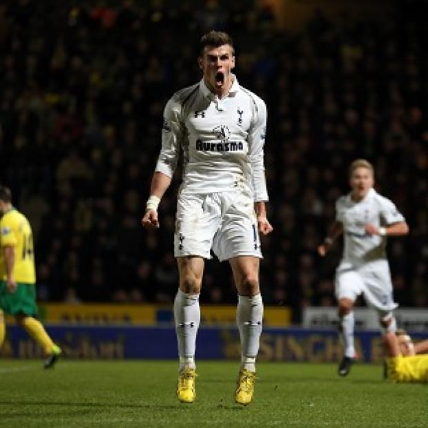 Gareth Bale scored a wonder-goal in Tottenham's draw with Norwich