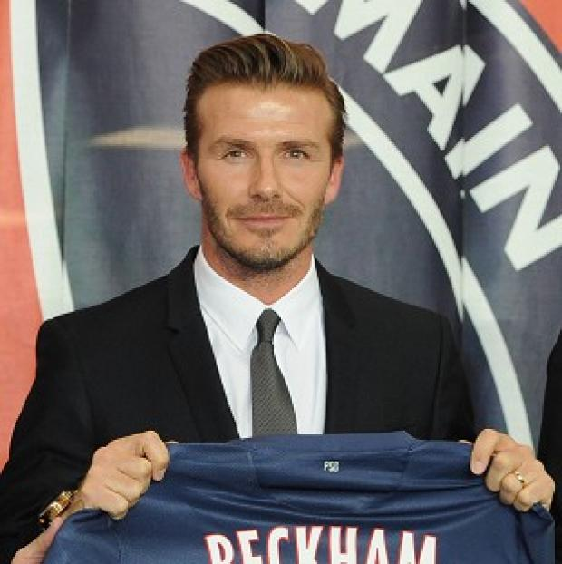 Carlo Ancelotti has backed David Beckham, pictured, to thrive in Paris