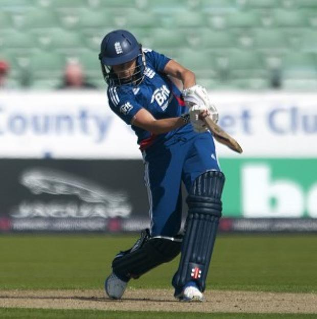 Charlotte Edwards was in great form for England