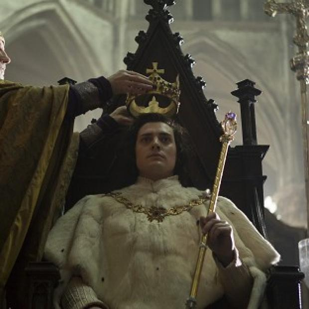 Aneurin Barnard stars as King Richard III in new BBC series The White Queen.