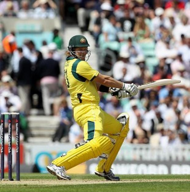 Shane Watson scored 76 as Australia secured a comfortable win
