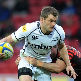 Mark Cueto touched down for his 76th domestic score as Sale Sharks beat Exeter