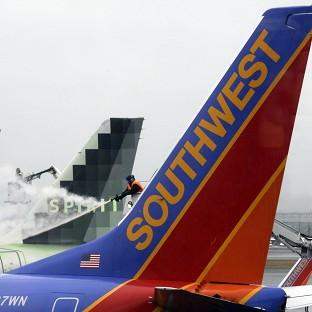Most airlines were giving up on flying in and out of New York, Boston and other airports in the American Northeast (AP)