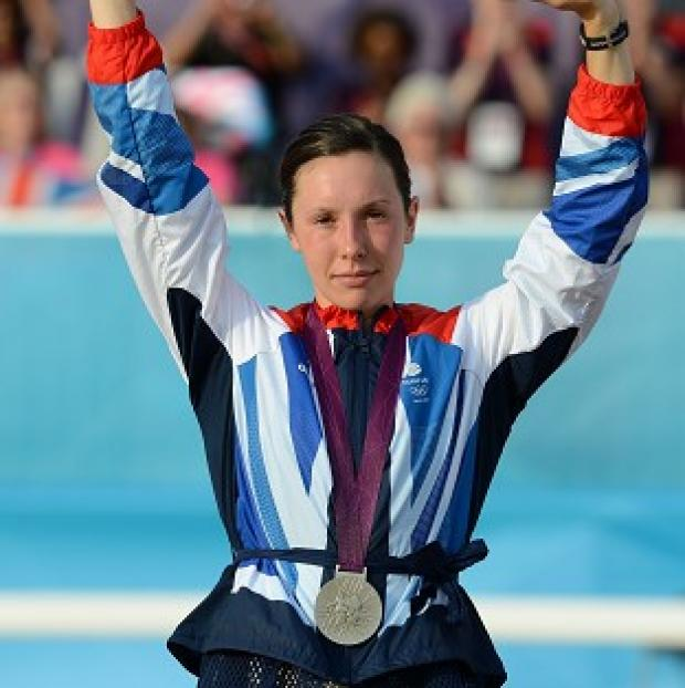 Samantha Murray won silver in the Modern Pentathlon at London 2012