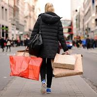 ONS data revealed an unexpected fall in high-street sales last month