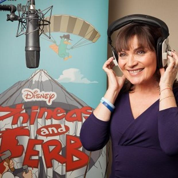Lorraine Kelly makes a cameo on Phineas And Ferb