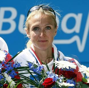Paula Radcliffe, pictured, said it was 'totally ridiculous' Peter Eriksson did not to select any male 1,500m runners