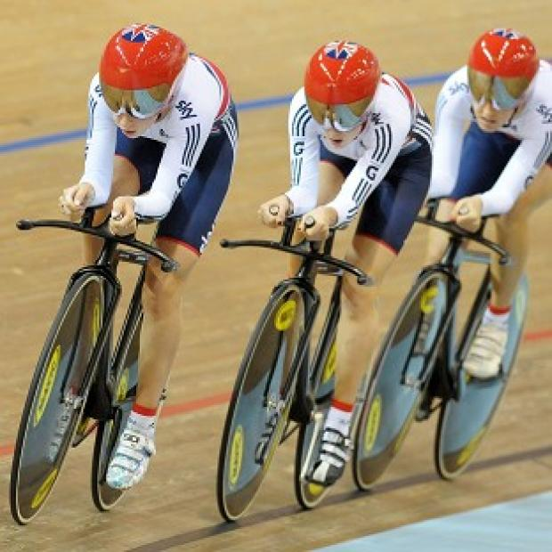Laura Trott, Elinor Barker and Dani King will take on Australia for the women's team pursuit gold