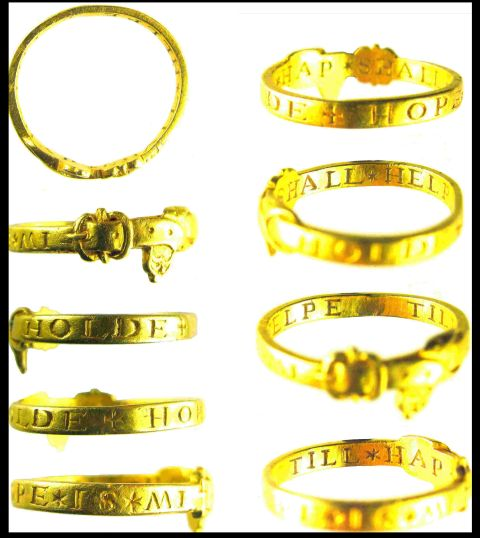 Winchester Museums are keen to purchase the gold ring. Photo courtesy of Portable Antiquities Scheme/ Winchester Museums.