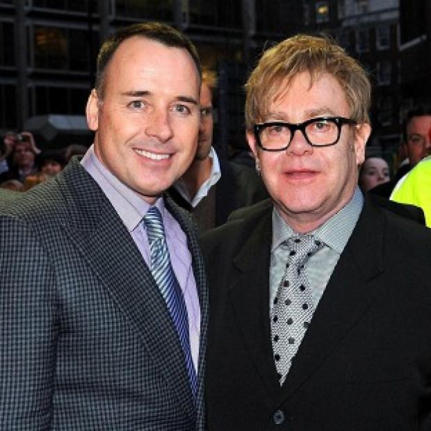 Sir Elton John and David Furnish have found parenthood much easier the second time around