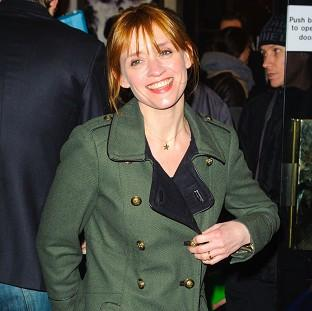 Anne-Marie Duff was among the stars who attended the press night of Macbeth at Trafalga