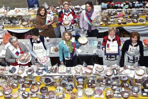 Hampshire Chronicle: The 2010 cake sale was a colossal success.