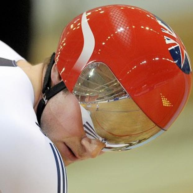 Jason Kenny was defeated in the men's sprint quarter-finals