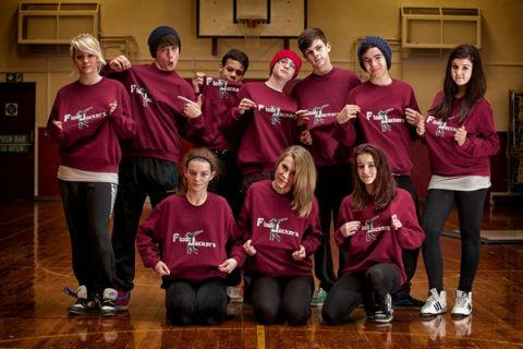 A dance group from Integr8, which has been nominated for a Lloyds TSB Enterprise Award