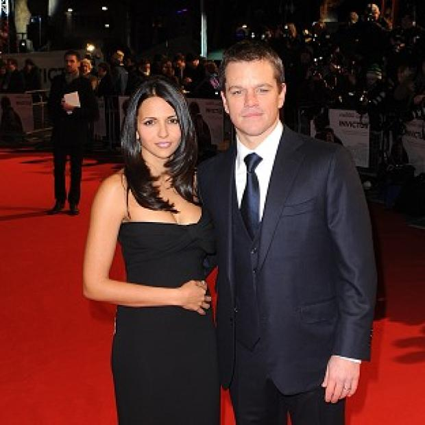 Hampshire Chronicle: Matt Damon and Luciana Barroso are planning another wedding celebration