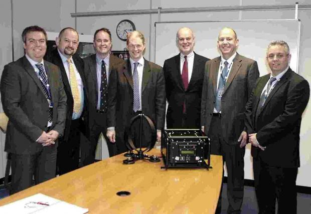 North East Hampshire MP James Arbuthnot at STI