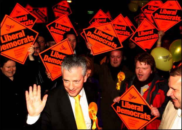 Lib Dems win Eastleigh byelection