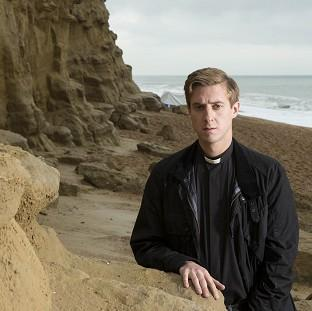 Arthur Darvill plays a vicar in Broadchurch