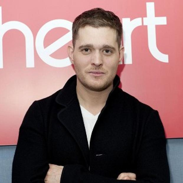 Michael Buble shot an ad for the Junos with Avril Lavigne and Chad Kroeger