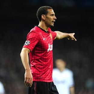 Rio Ferdinand looks set to extend his stay with Manchester United