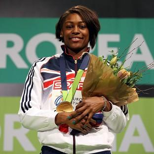 Great Britain's Perri Shakes-Drayton won gold in Gothenburg