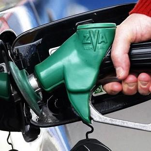 An average 16 pounds a week is used to buy petrol or diesel, figures suggest