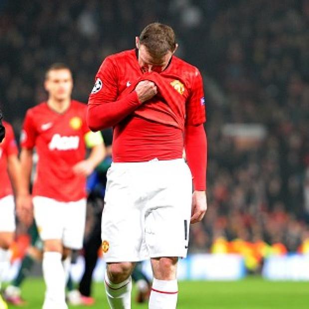 Wayne Rooney was dropped against Real Madrid