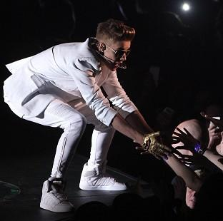 Justin Bieber complained of being 'light of breath' during his O2 concert
