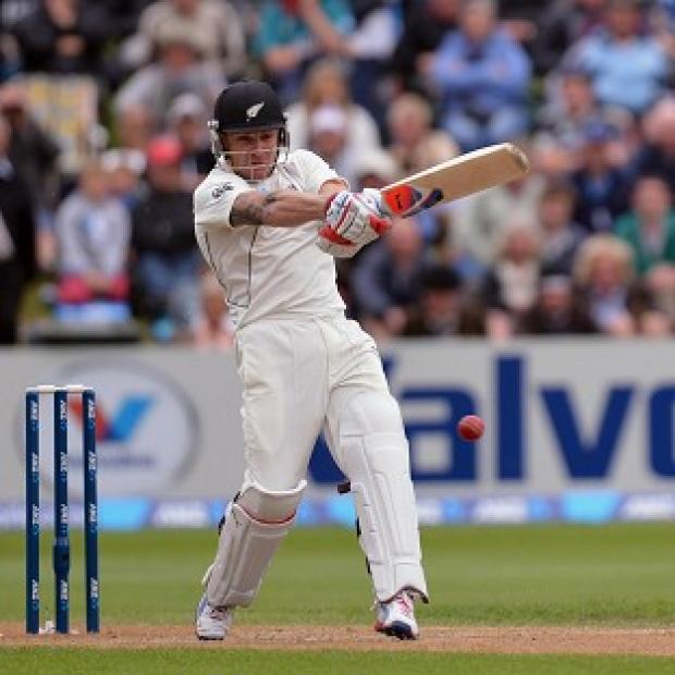 Brendon McCullum piled on the misery for England with a blistering 74