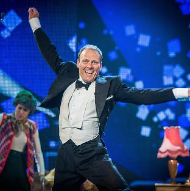 Antony Cotton won Let's Dance For Comic Relief (Guy Levy/Whizz Kid/BBC/PA)