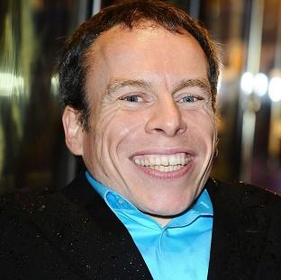 Warwick Davis said he has been very lucky in his career
