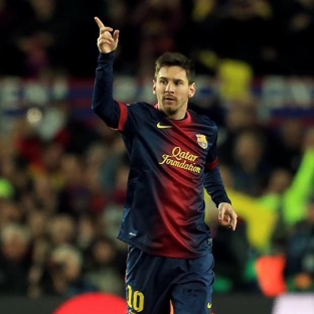 Lionel Messi kickstarted Barcelona's win with a first-half brace