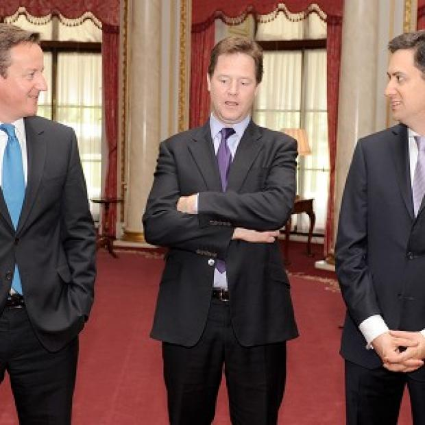 David Cameron, Nick Clegg and Ed Miliband have held talks over the Leveson proposals for press reform