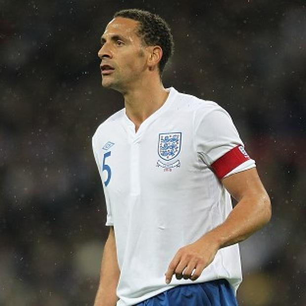 Rio Ferdinand is back in the England squad for the first time since 2011