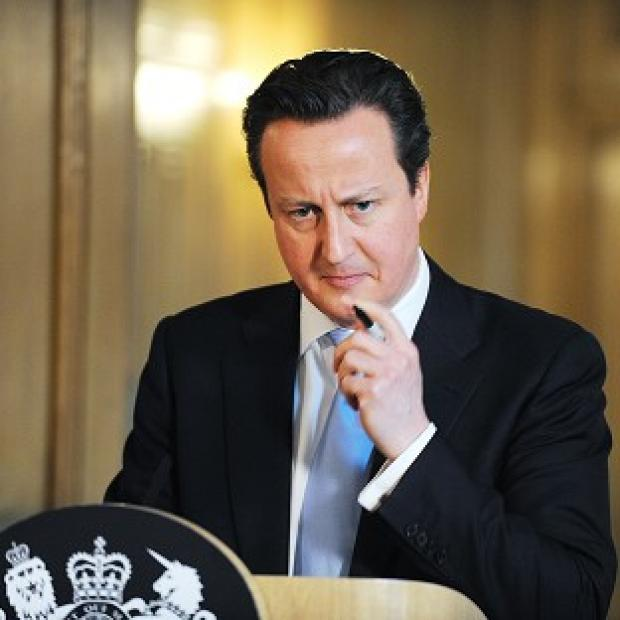 Prime Minister David Cameron faces a Lib-Lab pact over Leveson
