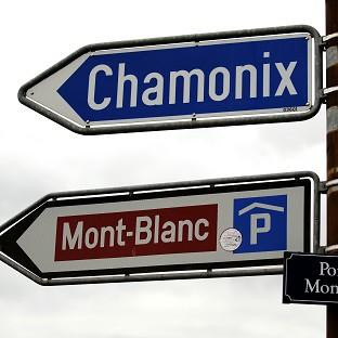 Rescue services in Chamonix received a call for help from a man who informed them his son had fallen into a crevasse near Mont Blanc