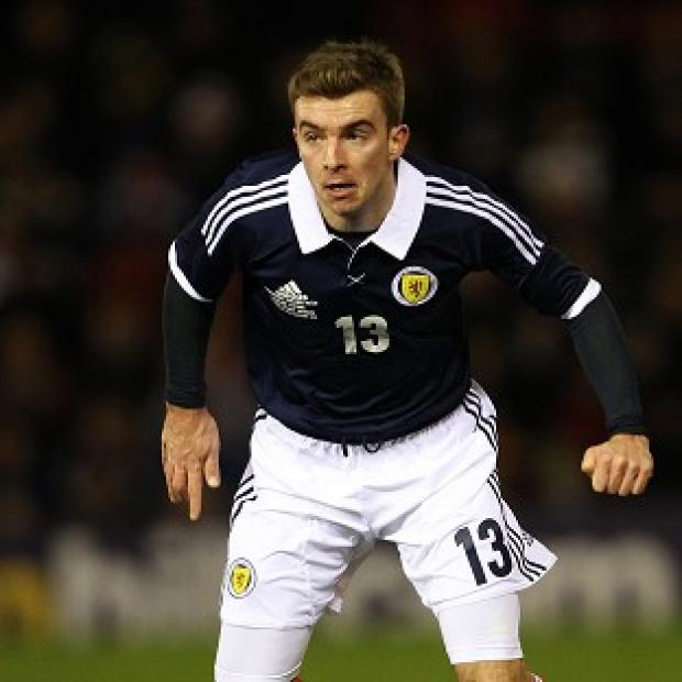 James Morrison is sidelined for Scotland's World Cup qualifiers against Wales and Serbia