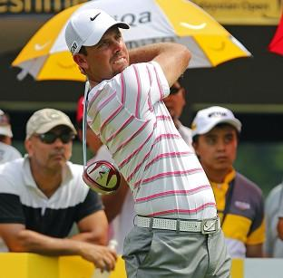 Charl Schwartzel followed up 67 with a second-round 68 in Kuala Lumpur (AP)