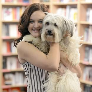 Ashleigh Butler would love to be in the film about her dog Pudsey's life
