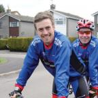 The Tandem Teachers: David Cooper, left, and brother-in-law Tom Wilkinson