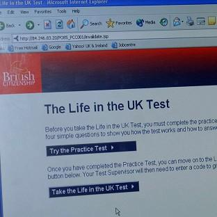 The Life in the UK test has been criticised as 'unfit for purpose' in its current form by an academic
